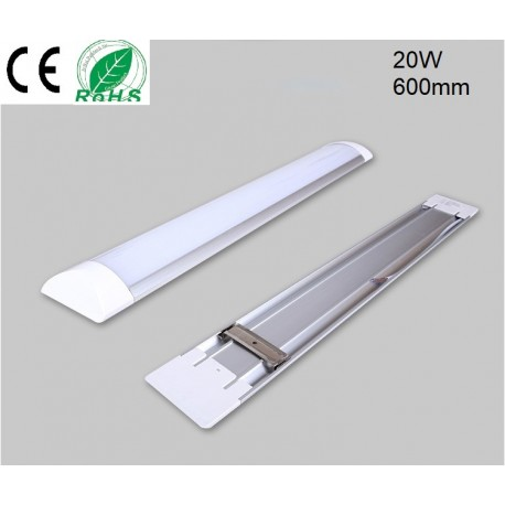 TUBE LED BATTEN-20W-600MM-BLANC DU JOUR-IP20