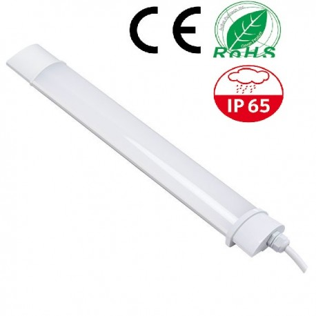 TUBE LED BATTEN-40W-1200MM-BLANC DU JOUR-IP65