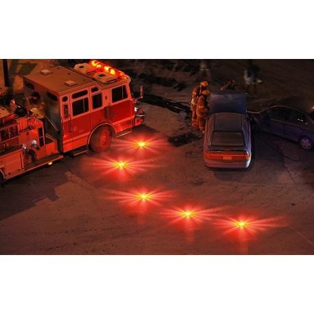 Kit Balises LED de signalisation rechargeables