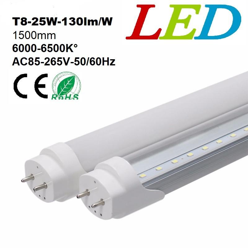 Tube T8 25w 125lmw Du Jour 150mm Blanc Led Neon Y6vbgyf7
