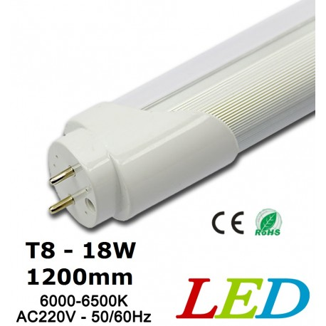 NEON LED TUBE T8 - 18W - 1200mm-BLANC DU JOUR