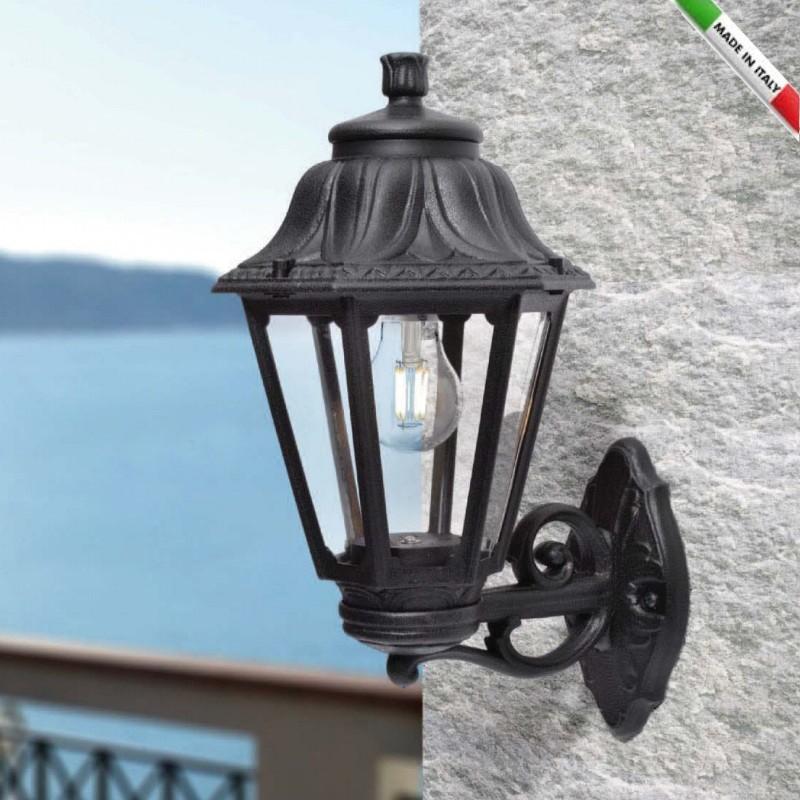 Applique Lanterne Murale En Resine Bissoanna Culot E27 Fumagalli