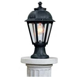 BORNE LED LANTERNE CLASSIQUE RESINE MIKROLOT/SABA CULOT E27-FUMAGALLI