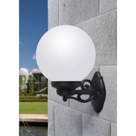 LAMPE MURALE GLOBE  BISSO/G250-Culot E27