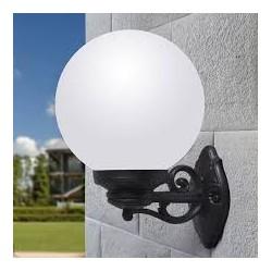LAMPE MURALE GLOBE  BISSO/G300-Culot E27