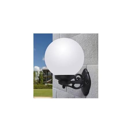 Applique murale globe bisso g300 culot e27 fumagalli for Applique murale exterieur globe