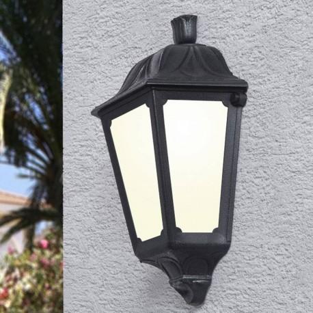 Applique Murale Demi Lanterne Resine Daria Culot E27 Fumagalli