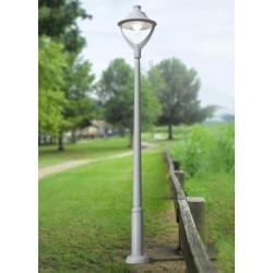 LAMPADAIRE RESINE MODERNE EKTOR 2500/BEPPE 400-NOIR-FUMAGALLI