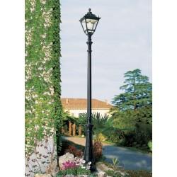 LAMPADAIRE RESINE NEBO/TOBIA 2960MM-NOIR-FUMAGALLI