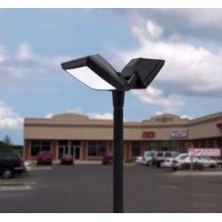 LAMPADAIRE AKILLE 3500MM-ROSA 2L- LED GX53(2X40W) - FUMAGALLI