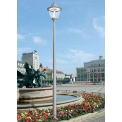 LAMPADAIRE GINO 500/AKILLE 4000MM-LED GX53-90W (9X10)-NOIR- FUMAGALLI