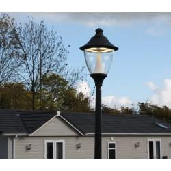 LAMPADAIRE GINO 400/AKILLE 4000MM-LED GX53-60W (6X10)-NOIR- FUMAGALLI