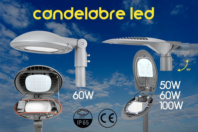 Candélabre Led